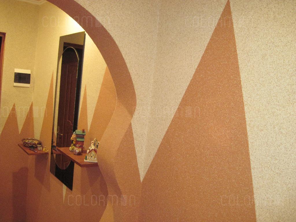 Декоративная штукатурка мраморная крошка фото